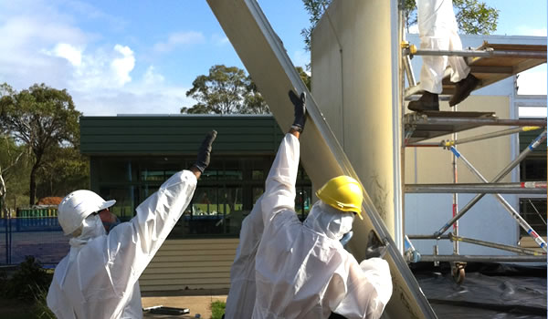 Asbestos demolition removal gold coast