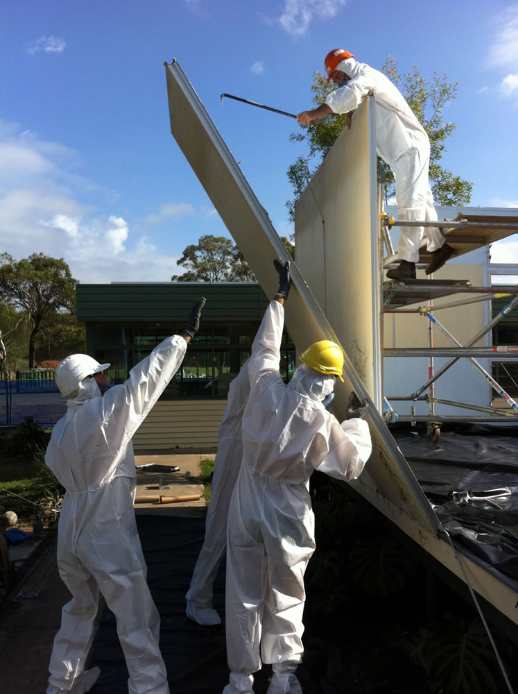 asbestos removing gold coast