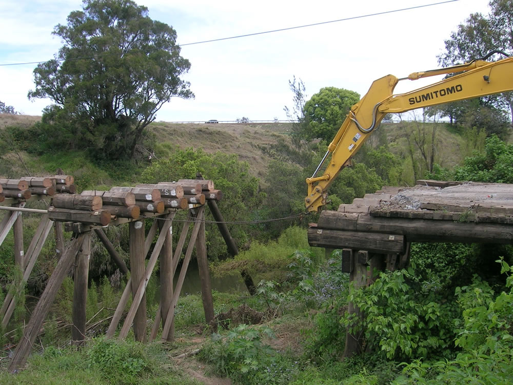 council bridge removal gold coast